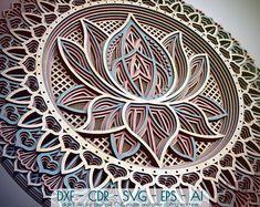 Il 7 Chakras Mandala Bundle, Mandala DXF file, Chakras Mandala Dxf file per laser, Mandala Svg Bundle, Laser Cut mandala file Lotus Mandala, Crochet Flower Patterns, Crochet Flowers, Crochet Pattern, Pattern Flower, Floral Patterns, Illumination Spirituelle, Design Lotus, Mandala Design