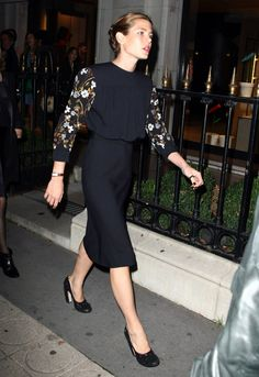 charlotte casiraghi...what else would you expect from Grace Kellys grandaughter?