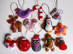Pack de 12 adornos rbol de Navidad adornos navideos decoracin