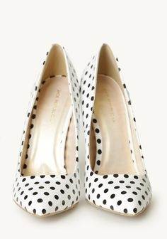 Table For Two Polka Dot Heels
