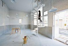 Architecture Photography: K House / Kimura Matsumoto Osaka, Blog Design Inspiration, Interior Architecture, Interior Design, Concrete Design, Japanese House, Japanese Design, Other Rooms, Entryway Decor