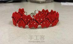[结绳]美美哒macrame爱心手链
