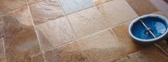 Cleaner grout is possible with professional grout cleaning. If you never seen it done, you will be AMAZED.