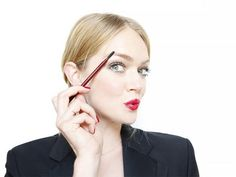 Lindsay Ellingson knows that perfect brows are always in style