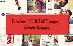 "Excellent ""About"" page examples from female #bloggers and #entrepreneurs via twelveskip.com"