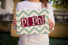 Pi Phi Chevron sign #piphi #pibetaphi