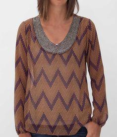 Daytrip Chevron Top - Women's Shirts/Tops | Buckle