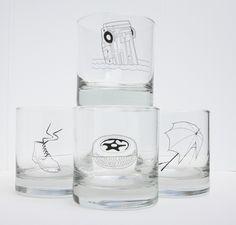 On the Rocks glasses Set of 4