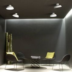 Contemporary Danish designer LED ceiling light in a crisp white finish with an adjustable head to create different accents of light. The Alba ceiling light is also available in a matt grey finish. Luminaire Led, Led Lampe, Eames, Semi Flush Ceiling Lights, Traditional Lighting, Interior Lighting, Innovation Design, Scandinavian Design, Facade