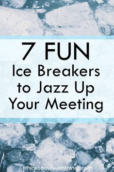 7 Fun & Easy Ice Breakers to Jazz Up Your Meeting Office Ice Breakers, Quick Ice Breakers, Ice Breakers For Women, Meeting Ice Breakers, Teacher Ice Breakers, Youth Group Ice Breakers, Fun Icebreakers, Icebreaker Activities, Team Activities
