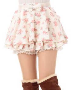 ☆ Lovely Liz Lisa Floral Skirt ☆