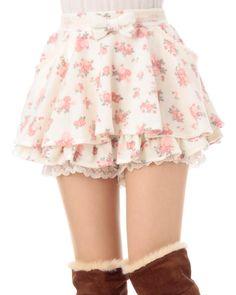 ☆ Lovely Liz Lisa Floral Skirt ☆