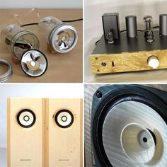 DIY Speakers - http://www.apartmenttherapy.com/diy-speakers-are-they-worth-it-options-alternatives-178743#