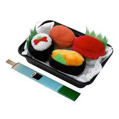 Doggie Sushi Toys.