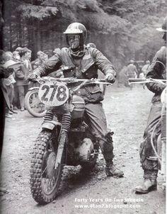 Celebrity #Triumph #Motorcycles Steve McQueen.