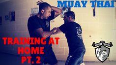 Muay Thai Training For Beginners At Home - Part 2 Krav Maga Kids, Learn Krav Maga, Muay Thai Techniques, Thai Boxer, Krav Maga Self Defense, Muay Thai Training, Street Fights, Tough Love, Mixed Martial Arts