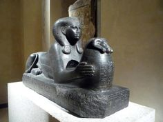 Great King, Ancient Egyptian Art, Great Power, Black Granite, Ancient Artifacts, Lion Sculpture, Africa, Statue, Hands