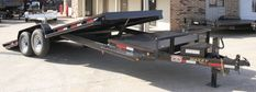 Tilt Bed Trailers - We can special order any size trailer to fit your needs! Tilt Trailer, Car Hauler Trailer, Trailer Plans, Trailers, Vacation Mood, Vacation Style, Lifted Cars, Toyota 4runner, Amazing Cars