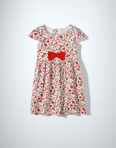 Zara FLORAL PRINT DRESS WITH BOW