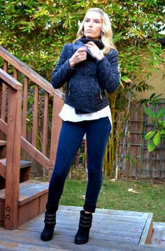 You know you want this jacket and booties :)  Fall fashion. Teach. Inspire. Change.