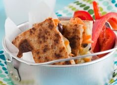 Best Lunch Box Ever: Sweetie Pie Quesadilla Recipe - HEALTHY RECIPES