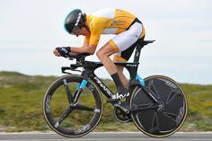 第3ステージ 総合首位ゲラント・トーマス(イギリス、チームスカイ)はステージ3位