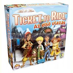 Days of Wonder bordspel Ticket to Ride - Mijn Eerste Reis (NL) Cool Toys For Boys, Best Kids Toys, Jungle Speed, Best Gifts For Tweens, Tween Girl Gifts, Ticket To Ride, Board Games For Kids, Toddler Christmas, Beginning Sounds