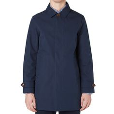GANT Rugger Waterproof Mac (Navy)