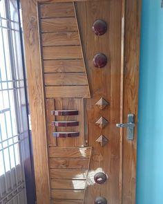 Entrance Doors, Front Doors, Wooden Main Door Design, Bedroom False Ceiling Design, Wooden Doors, Teak Wood, Wood Carving, Door Handles, Woodworking