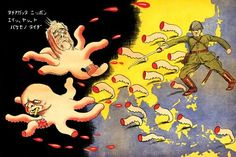 """Japan's 1st naval defeat of war censored; propaganda celebrates """"octopus of imperialism"""" vanquished across Pacific"""