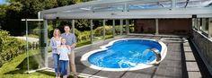 Modelos cubiertas y cerramientos de piscinas y terrazas Pipor Outdoor Decor, Home Decor, Gardens, Templates, Deck Covered, Covered Pool, Decks, Pools, Decoration Home