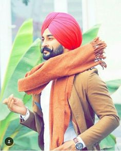 Boy Pictures, Cute Couple Pictures, Pixie, Punjabi Boys, Kurta Pajama Men, Punjabi Culture, Punjabi Fashion, Beard Styles For Men, Turban Style