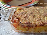 Torta con patate e melanzane