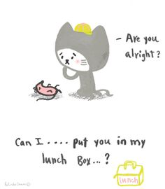 Lunch... Quirky Art, Whimsical Art, Cute Art, Hand Drawn, How To Draw Hands, Art Pieces, Illustration Art, Pencil, Sketches