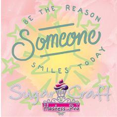 Be the reason someone smiles today...  #cakedecorating #sugarcraft #hostessprosugarcraft www.hostesspro.co.za