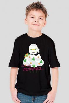Babeczkowa Mumia - t-shirt chłopięcy