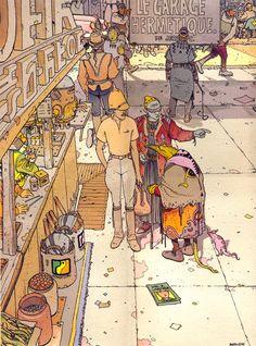 Stardom (1992), Moebius