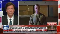 """""""How shocked are we that 17-year-olds with rifles decided they had to maintain order when no one else would?"""" Carlson asked his viewers on Wednesday night. Tucker Carlson, Media Matters, Political Spectrum, Fox News Hosts, Into The Fire, Right Wing, In This Moment, Celebrities, Rifles"""