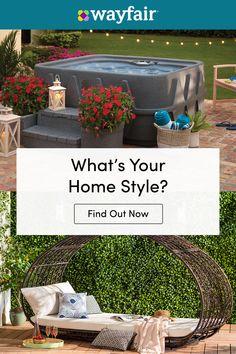 Best Interior Home Design Trends For 2020 - Interior Design Ideas Diy Patio, Backyard Patio, Fall Home Decor, Autumn Home, Style At Home, Diy Terrasse, Garden Design, House Design, Backyard Pool Designs
