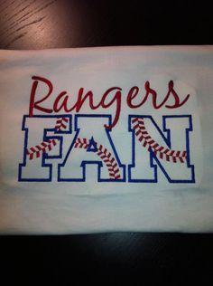 Texas Rangers Fan TShirt