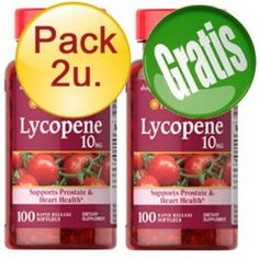 PACK 2U+1 LICOPENO 10 MG 100 CAPSULAS - LYCOPENE