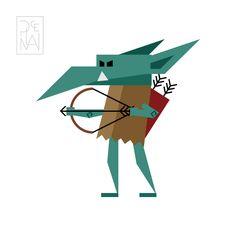 Goblin Goblin, Graphic Design, Logos, Graphics, Art, Art Background, Logo, Kunst, Printmaking