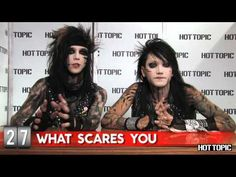 Hot Minute: Black Veil Brides  I absolutely love them <3