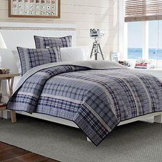 Nautica® Tiller Reversible Quilt - BedBathandBeyond.com