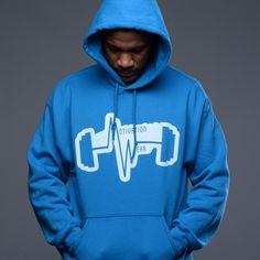 Mw classic turquoise hoodie