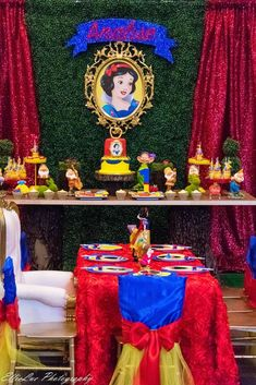 Snow White Birthday Party Ideas | Photo 34 of 50