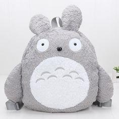 40cm Anime My Neightor Totoro soft Stuffed Cartoon Totoro Backpack plush  School Bags Kids Gifts. 36011b28ff34f