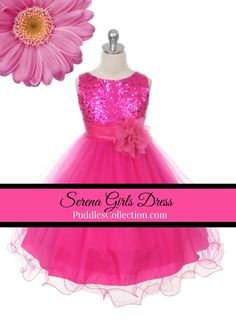 Stunning sequinced bodice with double layered mesh.
