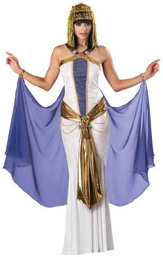 In Character New Sexy Cleopatra Egyptian Goddess Queen Costume M