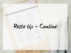 resto tip Cantine | lunch in Vilvoorde